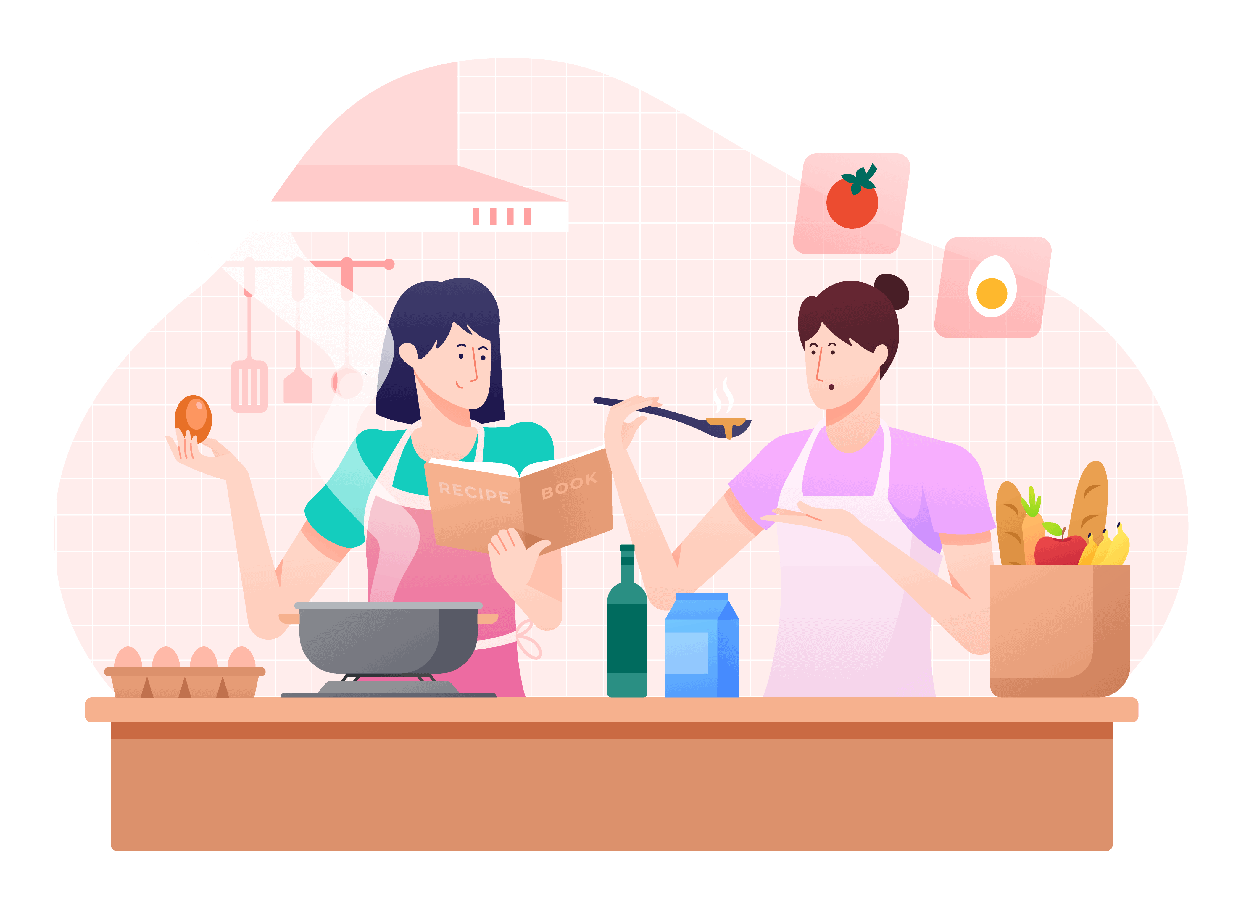 Cooking Class Graphics